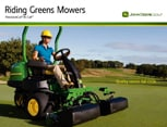 Follow link to view Riding Greens Mowers brochure