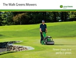 Walk Greens Mowers brochure