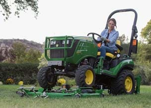 Follow link to 1 Family Sub-Compact Utility Tractors offer