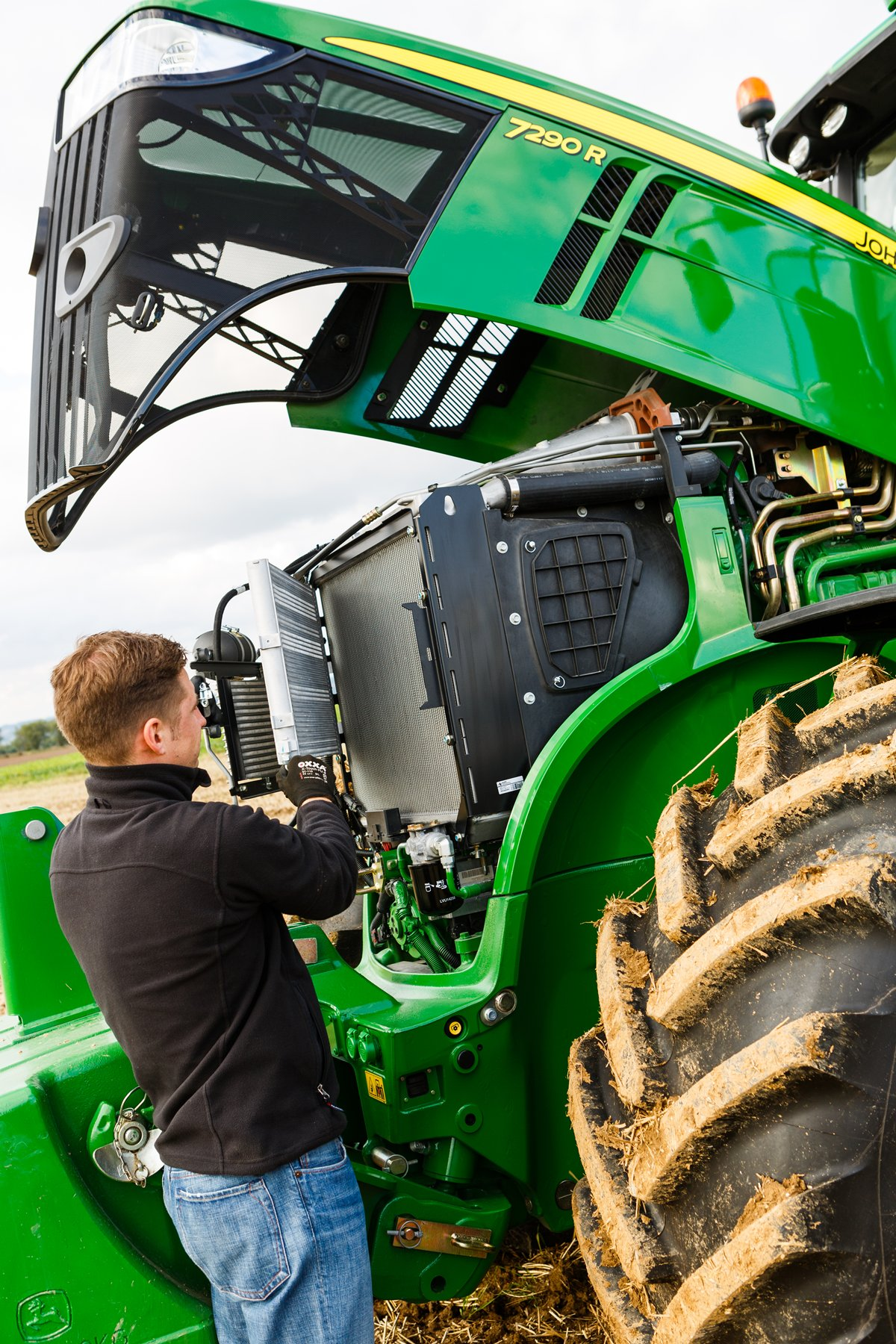 Press Room At The Z100 S Jingle Ball: John Deere Introduces New 7R And 8R Series Tractors