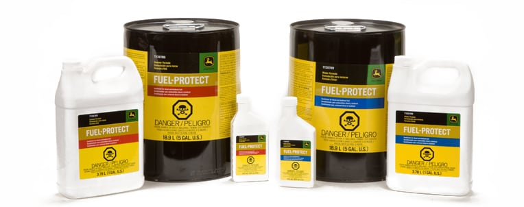 Fuel-Protect Diesel Fuel Conditioner products in a line