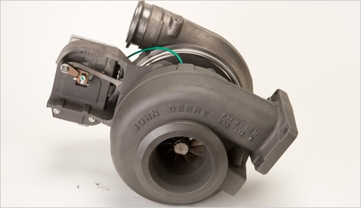 Engine turbocharger