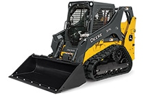 Studio view of a 317G Compact Track Loader