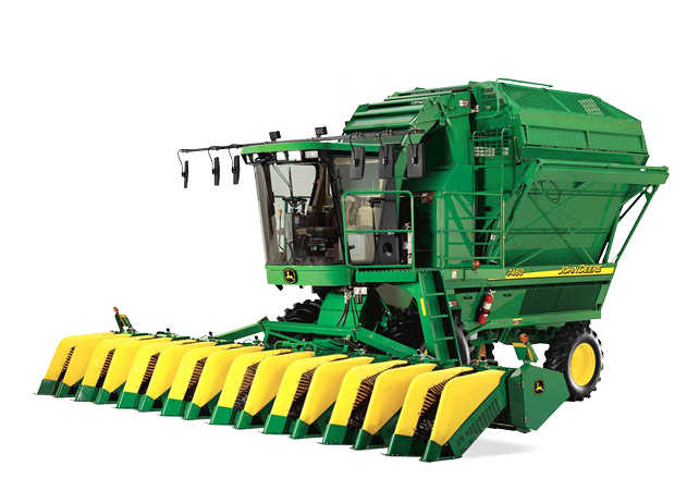 2015 John Deere GoCotton: CS690 Cotton Stripper - YouTube