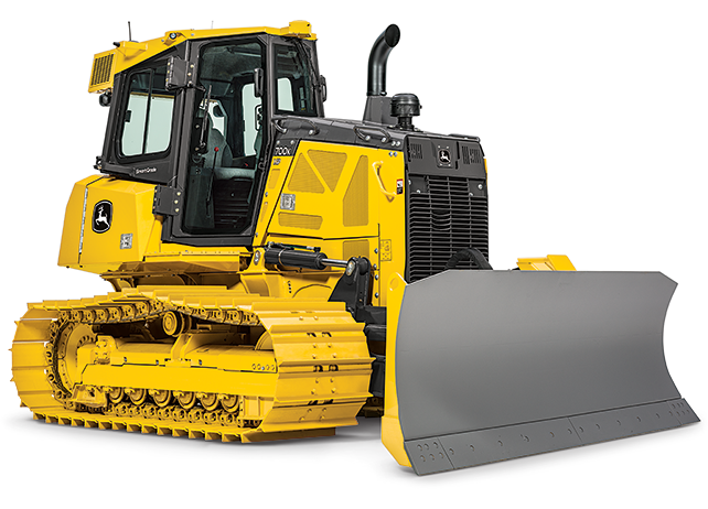 Studio view of a 700K SmartGrade Dozer