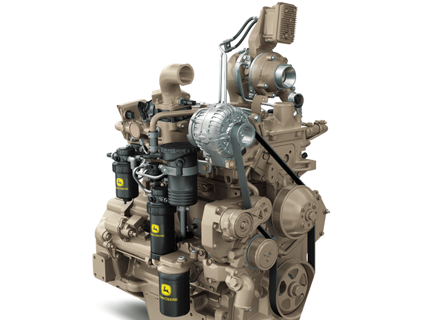 4.5L Gen-Set Diesel Engine 124 kW (166 hp) @ 1800 rpm