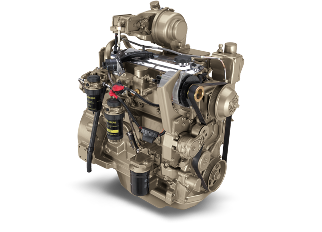 4045H 4.5L Gen-Set Diesel Engine 147 kW (197 hp)