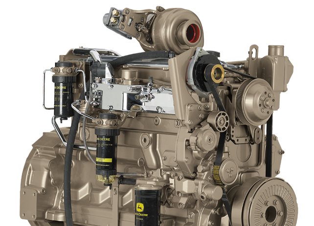 6068H 6.8L Tier 3 Marine Auxiliary Engine 187 kW (250 hp) @ 2200 rpm