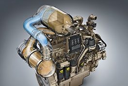 Studio image of Tier 4 engine