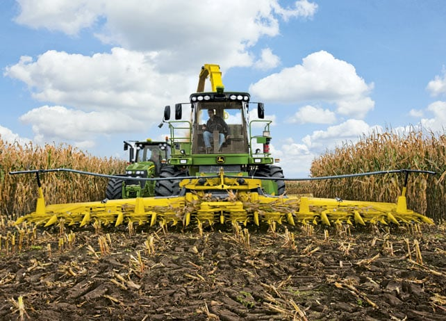AMS: John Deere i-Solutions for Self Propelled Forage Harvester