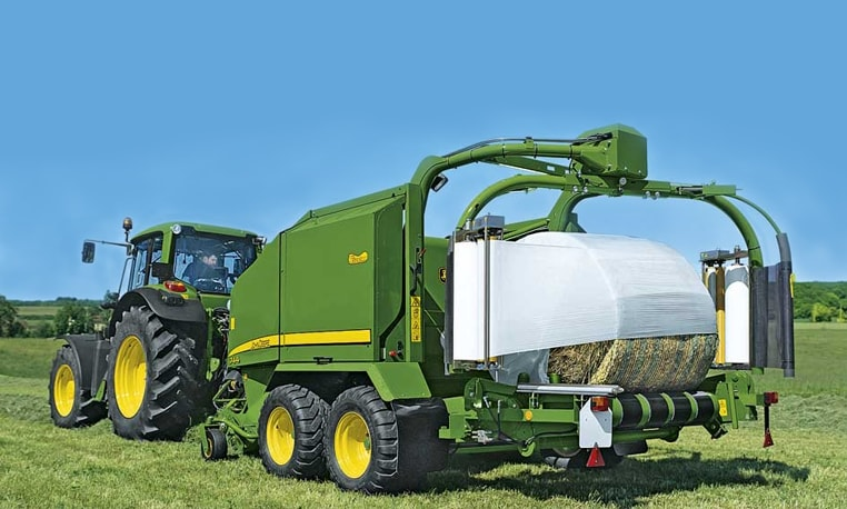 john deere 700 series wrapping chamber balers. Black Bedroom Furniture Sets. Home Design Ideas