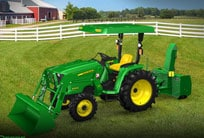 Follow link to build your own Compact Utility Tractor