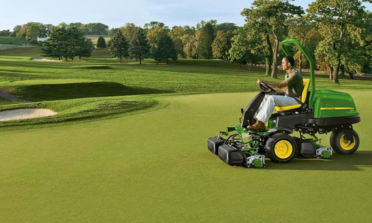 john deere 2500b 2500e riding greens mowers. Black Bedroom Furniture Sets. Home Design Ideas