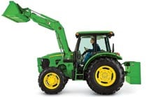 Image of a John Deere 5101E Series Utility Tractor