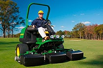 Follow link to Golf E-Cut Hybrid Mowers