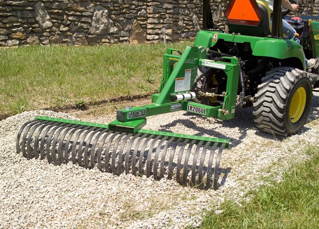 Landscape Rake Vs Rear Blade : This rake is designed to clear rock or debris help you level soil