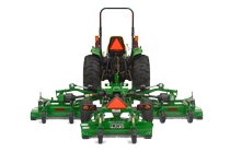Image of a Flex-Wing Grooming Mower.