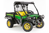Follow link to Gator™ Utility Vehicles page.