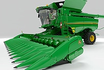Follow the link for the S-Series Combine Experience
