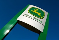 John Deere dealer sign