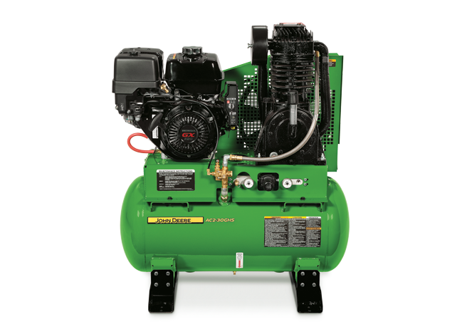 John Deere Ac2 30ghs Stationary Gasoline Two Stage Air