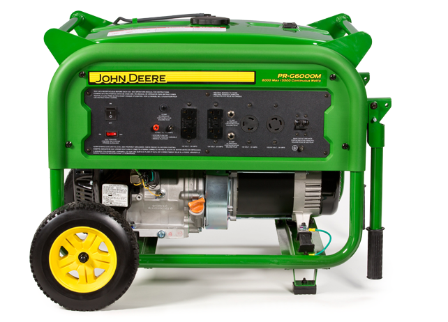 john deere pr g6000m generator pr series generators johndeere com rh deere com John Deere Portable Generators for Home John Deere Electric Generators