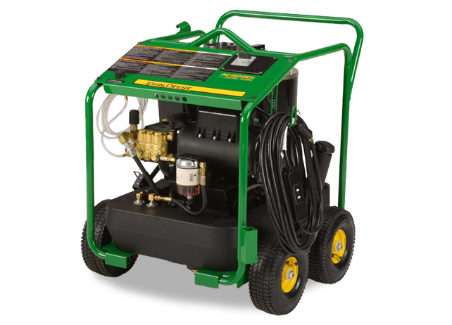 AC-1500EH Portable Oil Fired Belt Drive Pressure Washer