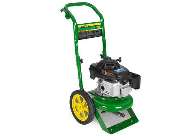 John Deere HR-2410GH Pressure Washer Homeowner/Residential Light Duty Cold Water Pressure ...