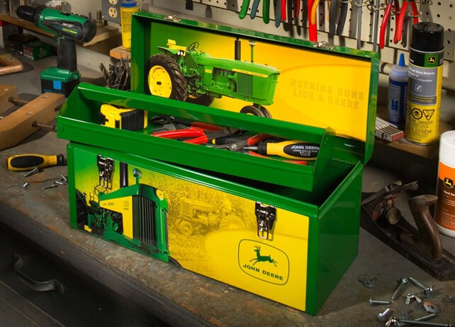 TY26481 20-inch-wide, Vintage Tractor Toolbox