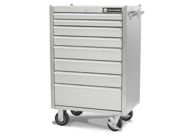 Ac 2600tc B 26 Inch 8 Drawer Stainless Steel Tool Cabinet