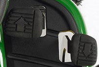 Close-up image of Hydrostatic Twin Touch™ pedals