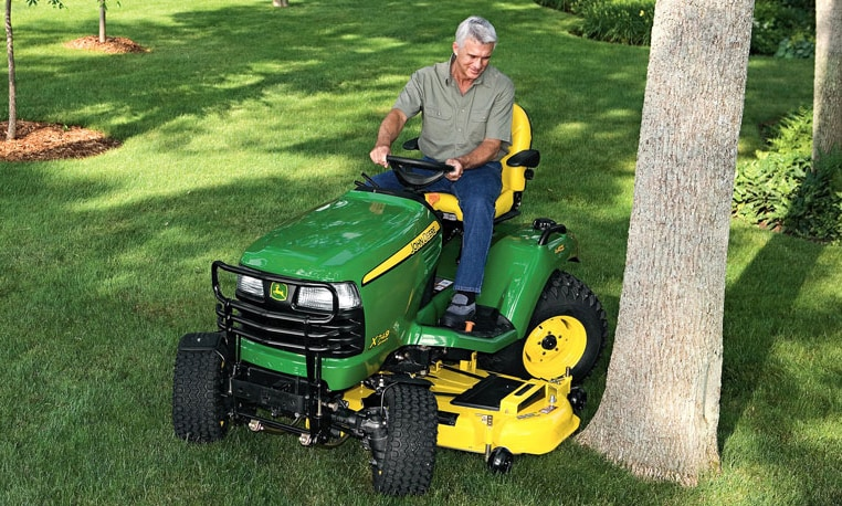 John Deere Riding Mowers Prices >> John Deere X700 Series Lawn Tractors Riding Lawn Equipment