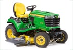 Follow link to the X738 Signature Series 4-Wheel Drive Tractor, Less Mower Deck product page.