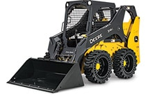 Studio view of a 314G Skid Steer