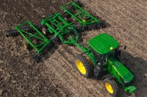 2625 Three-Section Tandem Disks for Primary Tillage