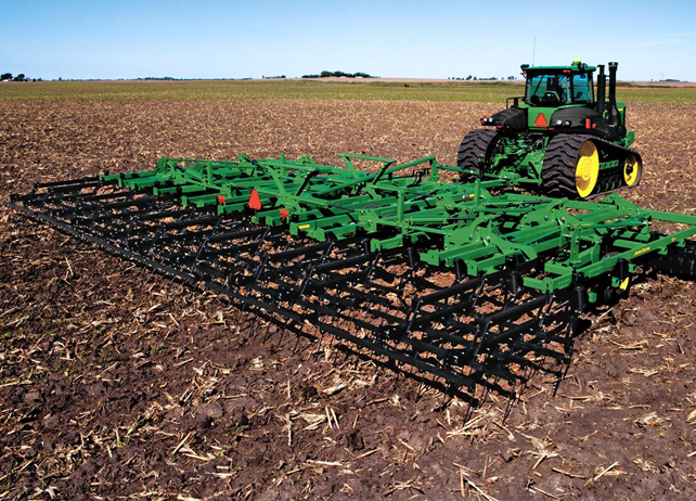 John Deere 2310 Mulch Finisher Seedbed Tillage
