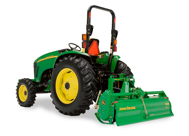 Compact Tractors Product : Spotlight on the fully loaded john deere