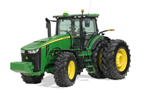 Image of a John Deere 9560R Series Four Wheel Drive Tractor