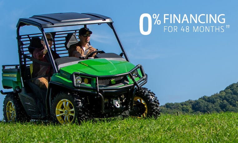 View financing offer for Gator™ XUV and RSX