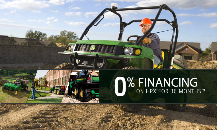 View special offers for Utility Vehicles.
