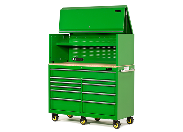 John Deere AC-5624H-G 56-in. Top Hutch Tool Chests & Cabinets Tool ...