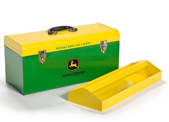 HR-20HB-2 20-inch Hand-Carry Toolbox Green with Yellow Lid