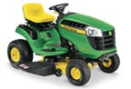 Follow link to the D110 Lawn Tractor (2016) product page.