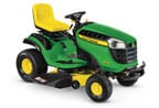 Follow link to the D130 Lawn Tractor  product page.