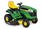 Follow link to the D140 Lawn Tractor (2016) product page.