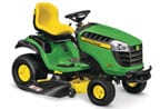 Follow link to the D155 Lawn Tractor, California Model product page.