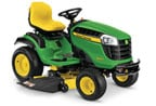 Follow link to the D160 Lawn Tractor, California Model product page.