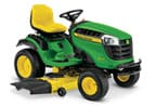 Follow link to the D170 Lawn Tractor, California Model product page.