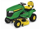 Follow link to the X350 Tractor, 42-inch deck product page.