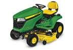 Follow link to the X350 Tractor, 48-inch deck product page.